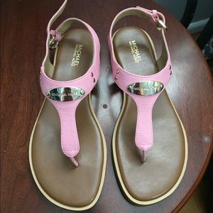 Brand new never worn size 6.5 Michael Kors sandals